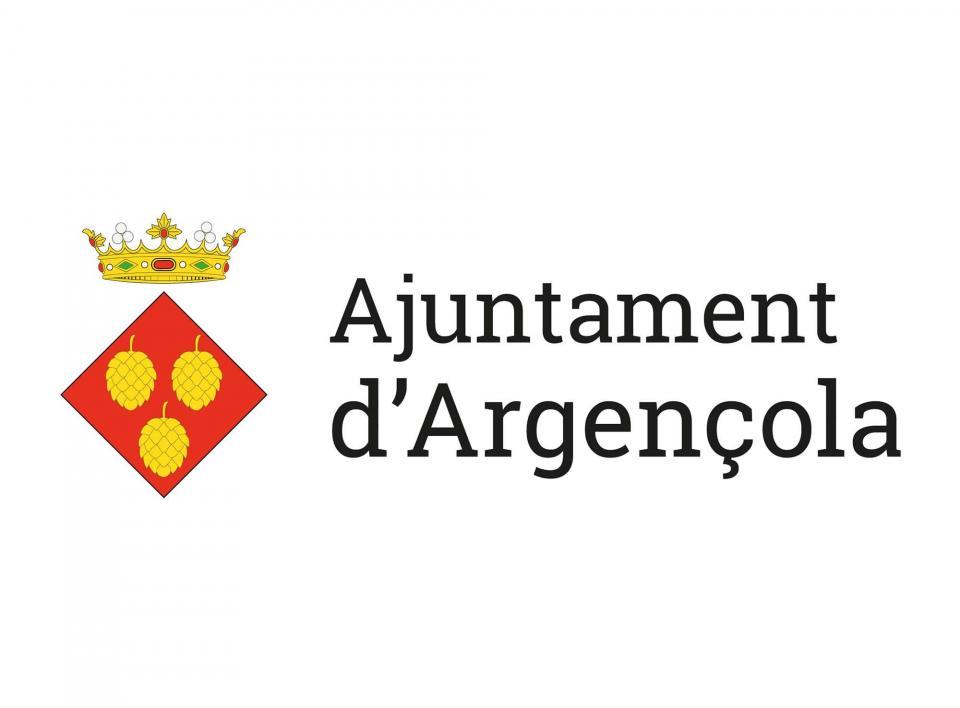Identitat corporativa de l'Ajuntament d'Argençola - Argençola