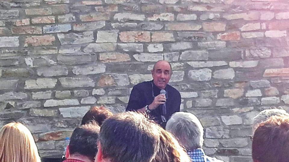 12.06.2016 Xerrada de Lluís Llach  Argençola -  Toni Castillo