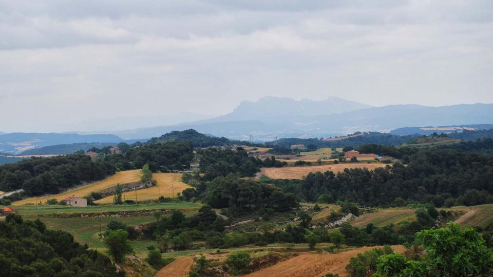 11.06.2016 paisatge  Argençola -  Ramon Sunyer