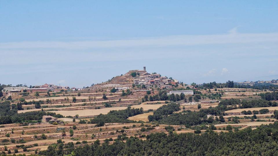 03.07.2016 Vista d'Argençoila des dels Plans de Ferran  Argençola -  Ramon  Sunyer
