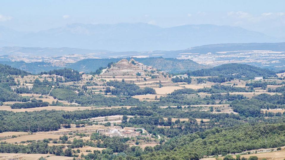 03.07.2016 Vista d'Argençola i Contrast dels Plans de Ferran  Argençola -  Ramon  Sunyer