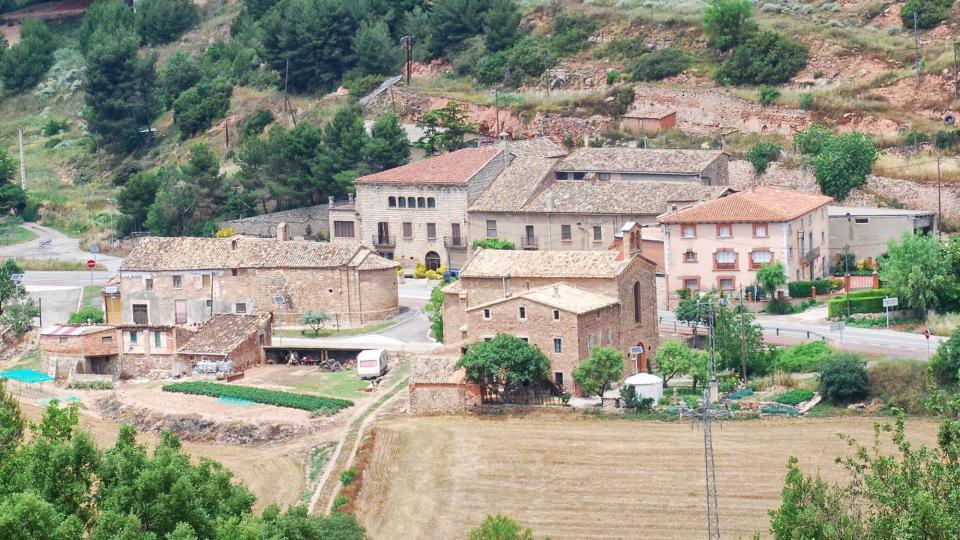 11.06.2016 Les 2 esglésies pertanyen a Argençola  Santa Maria del Camí -  Ramon  Sunyer