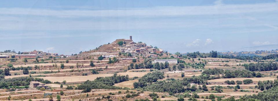 07.07.2016 Argençola i Carbasí des dels Plans de Ferran  Argençola -  Ramon Sunyer