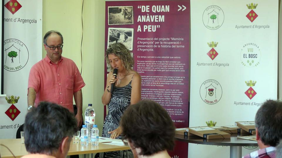 02.07.2016 Parlament de M Carme Freixa, presidenta de l'Associació de Micropobles de Catalunya  Argençola -  Sílvia Invers