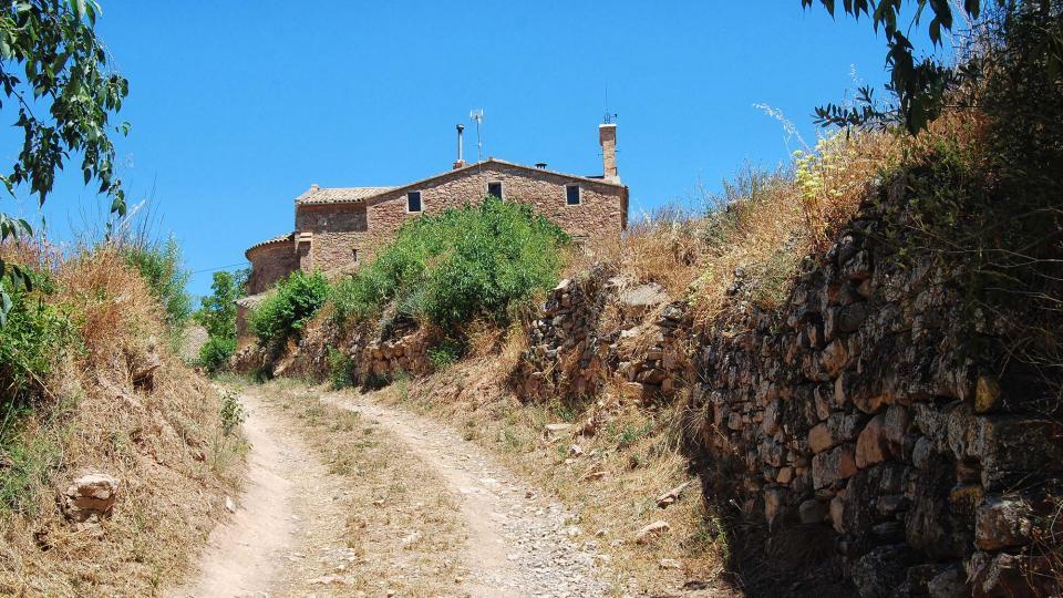 10.07.2016 camí  Santa Maria del Camí -  Ramon Sunyer