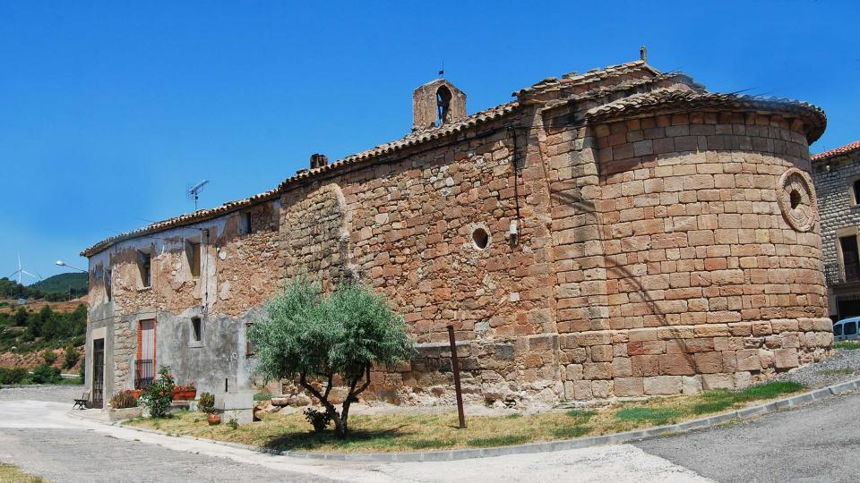 10.07.2016 Església Santa Maria  Santa Maria del Camí -  Ramon Sunyer