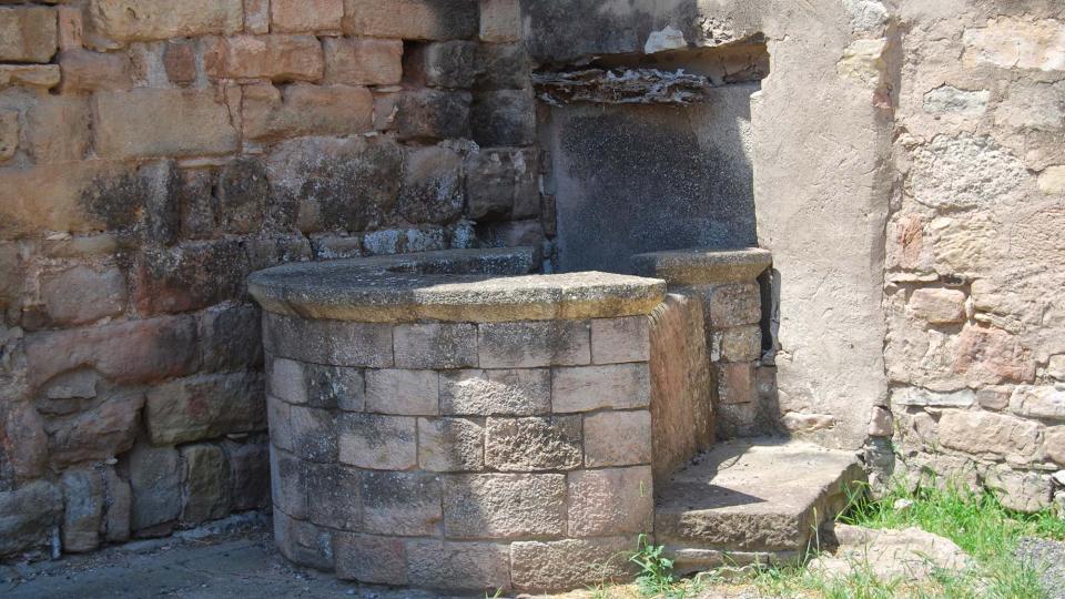 10.07.2016 cisterna  Santa Maria del Camí -  Ramon Sunyer