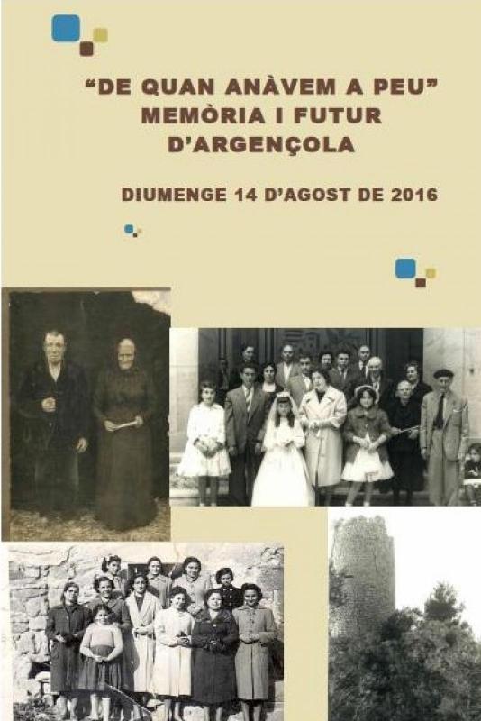 Presentació de l'audiovisual 'De quan anàvem a peu - Memòria i futur d'Argençola' - Argençola