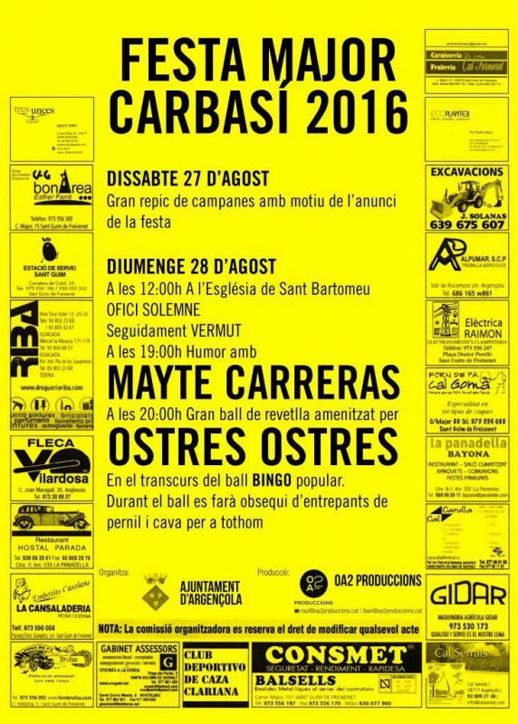 Festa Major de Carbasí