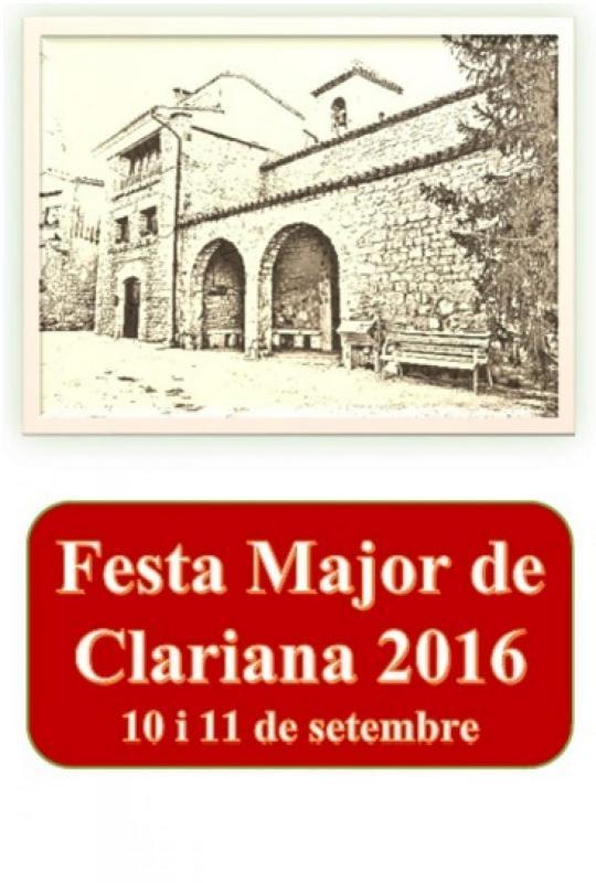 Festa Major de Clariana 2016