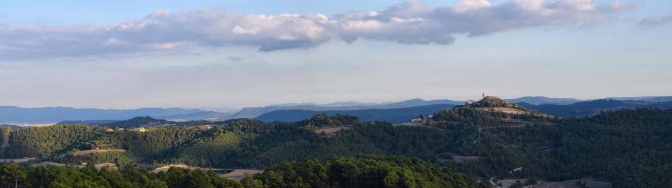 15.10.2016 Vista des de Carbasí a la tardor  Argençola -  Ramon Sunyer