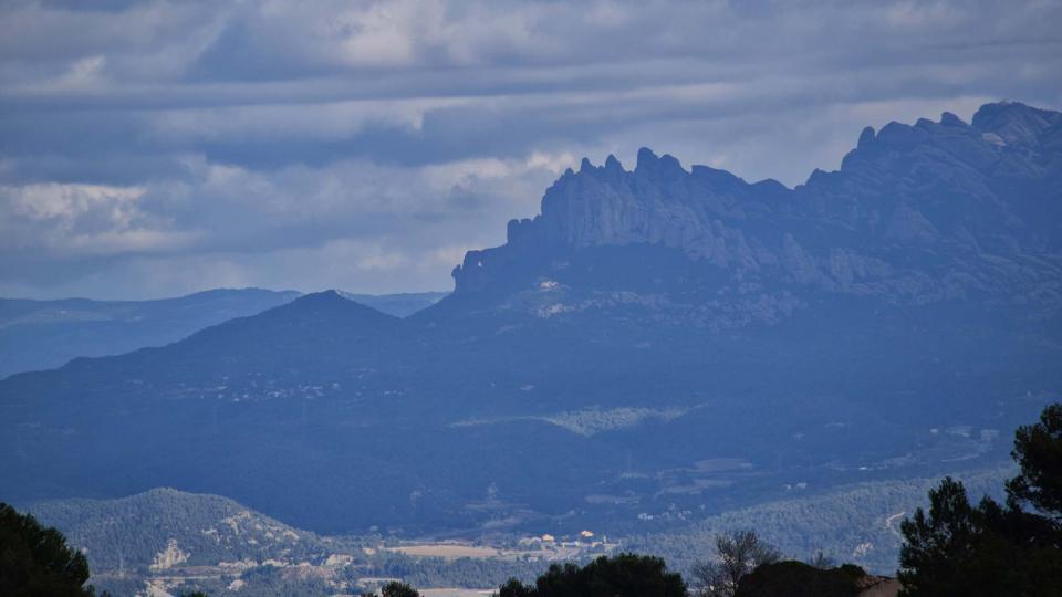 06.11.2016 vista de Montserrat  La Goda -  Ramon Sunyer