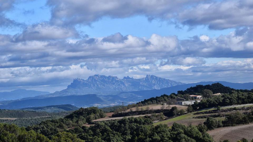 06.11.2016 vista de Montserrat  Argençola -  Ramon Sunyer