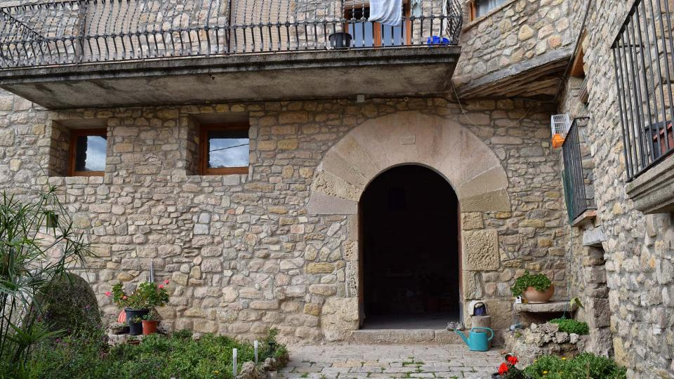 20.11.2016 portalada casa  Clariana -  Ramon Sunyer