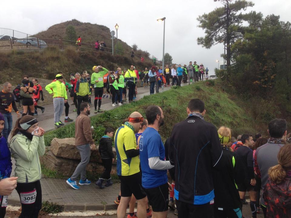 28.11.2016 Sortida dels corredors  Argençola -  James Mc Kinnell