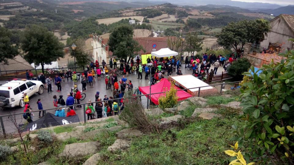 28.11.2016 Vista del la plaça  Argençola -  David Sánchez