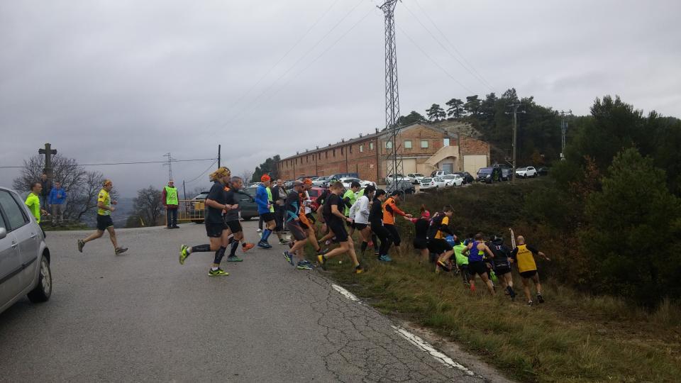 28.11.2016 Sortida dels participants de Trail  Argençola -  Marina Berenguer