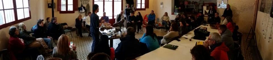 26.11.2016 Panoràmica de la sala durant la Jornada sobre bolets  Porquerisses -  Josep Lluís Gonzàlez