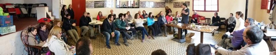 29.11.2016 Panoràmica de la sala durant la Jornada sobre bolets  Porquerisses -  Josep Lluís Gonzàlez