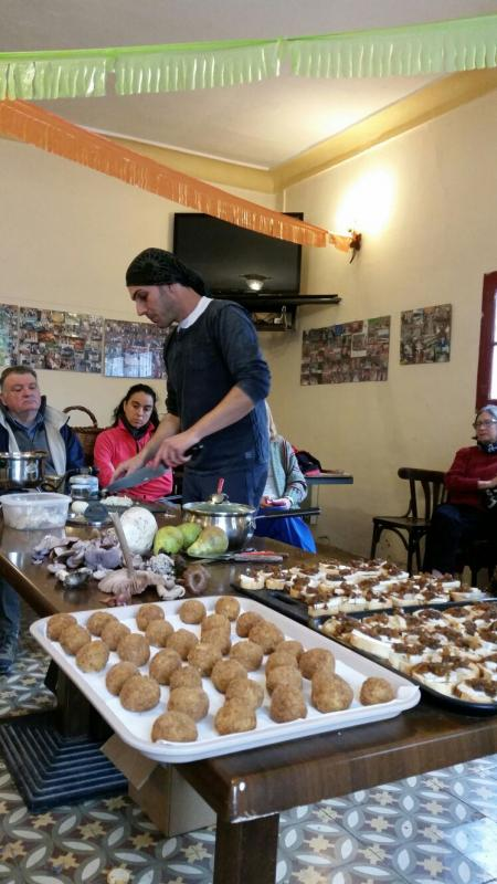 29.11.2016 Marc Casabosch al Show Cooking de la Jornada sobre bolets  Porquerisses -  Josep Lluís Gonzàlez