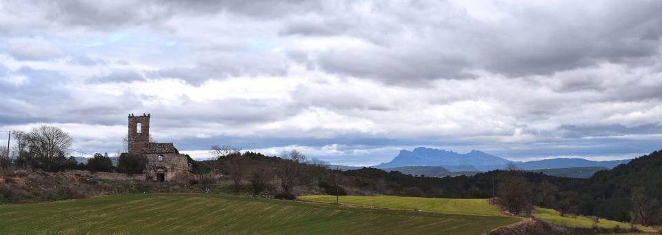 22.01.2017 Montserrat al fons  Albarells -  Ramon Sunyer