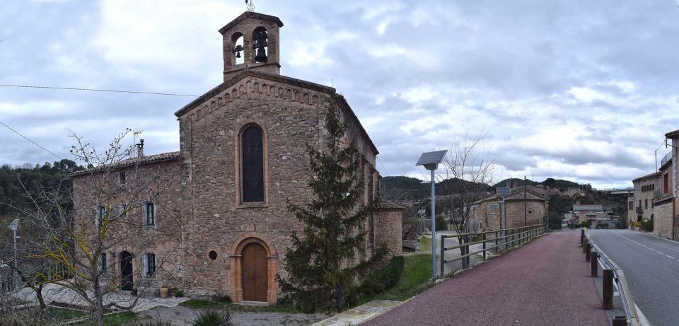 22.01.2017 Església nova  Santa Maria del Camí -  Ramon Sunyer