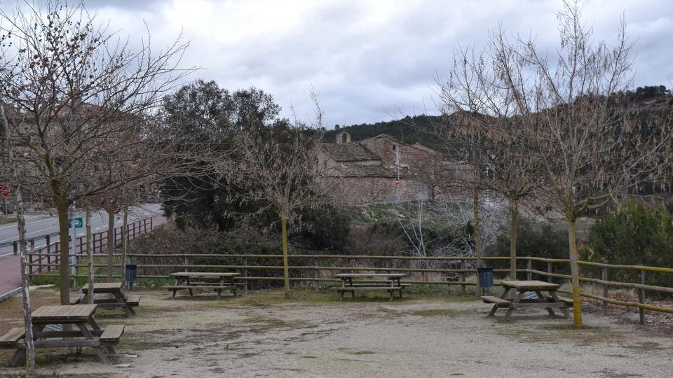 22.01.2017 zona descans  Santa Maria del Camí -  Ramon Sunyer