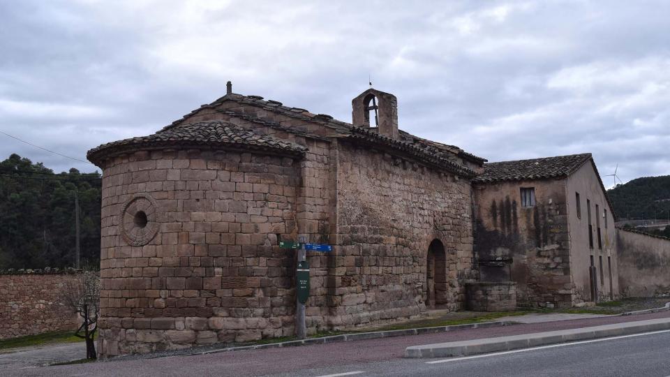 22.01.2017 Església de santa Maria  Santa Maria del Camí -  Ramon Sunyer