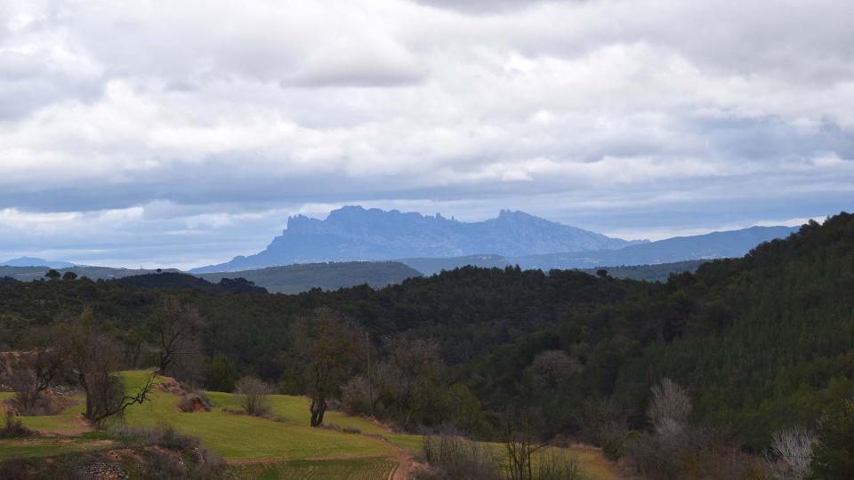 22.01.2017 Vista de Montserrat  Albarells -  Ramon  Sunyer