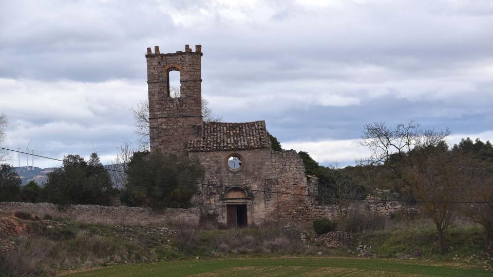 22.01.2017 Església de Sant Martí  Albarells -  Ramon Sunyer