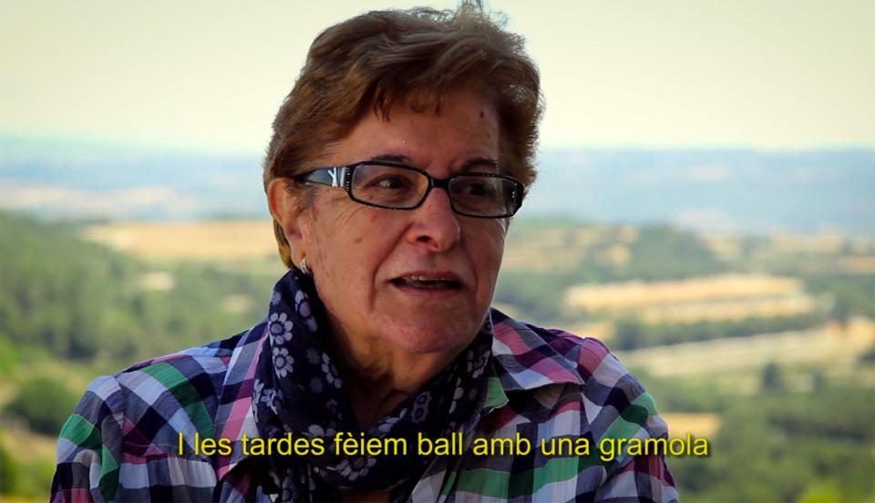 Escena del vídeo 'De quan anàvem a peu - Memòria i futur d'Argençola' - Argençola
