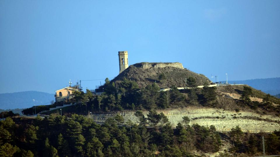 25.02.2017 Vista des de Carbasí  Argençola -  Ramon  Sunyer