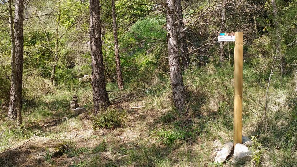 17.04.2017 Senyalètica rutes  Argençola -  Marina Berenguer