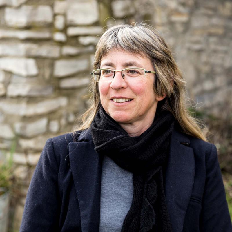 M. Àngels Solé autora de la novel·la 'Essències criminals' de - Argençola