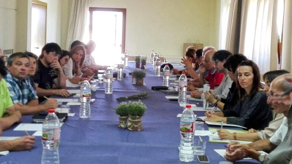 26.05.2017 2a reunió del Local Stakeholders Group del projecte BIO4ECO  Argençola -  Sílvia