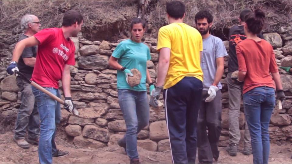 Taller de construcció en pedra seca a Clariana - Clariana