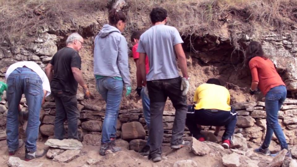 Taller de construcció en pedra seca a Clariana
