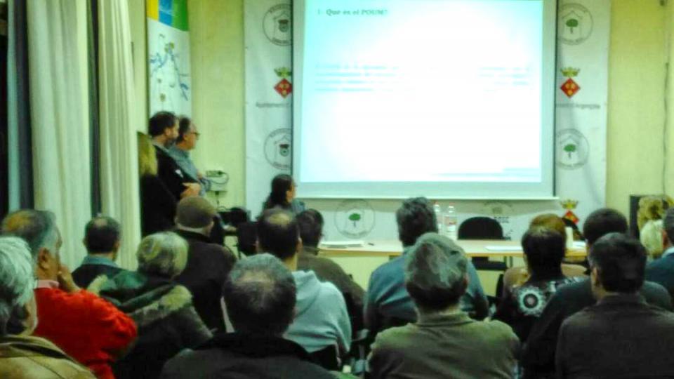 1a Sessió informativa i participativa de l'Avanç Poum d'Argençola - Argençola