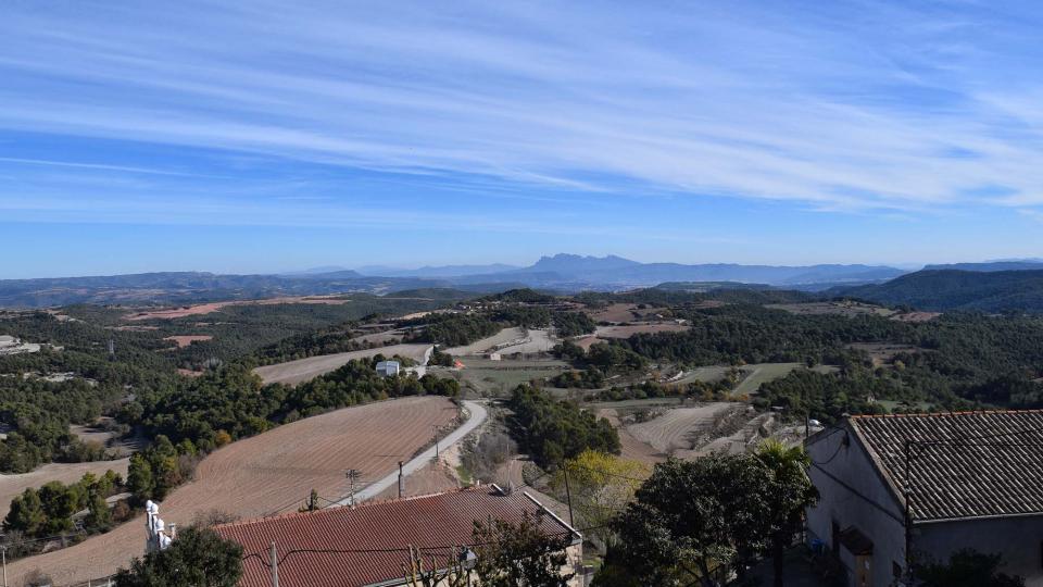 27.11.2017 paisatge de tardor  Argençola -  Ramon  Sunyer