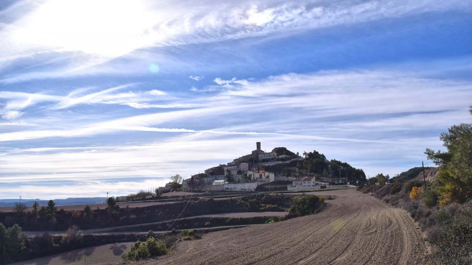 27.11.2017 vista del poble  Argençola -  Ramon  Sunyer