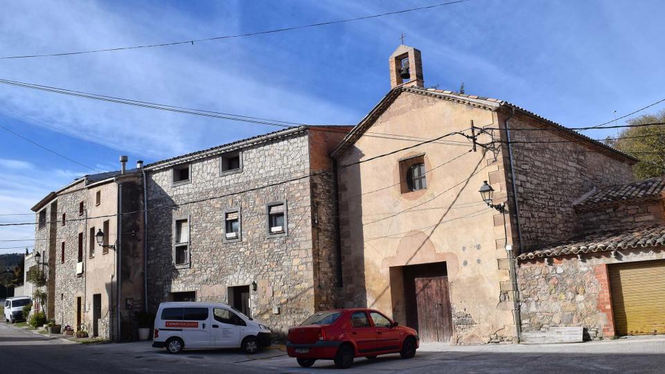 27.11.2017 església  Porquerisses -  Ramon  Sunyer