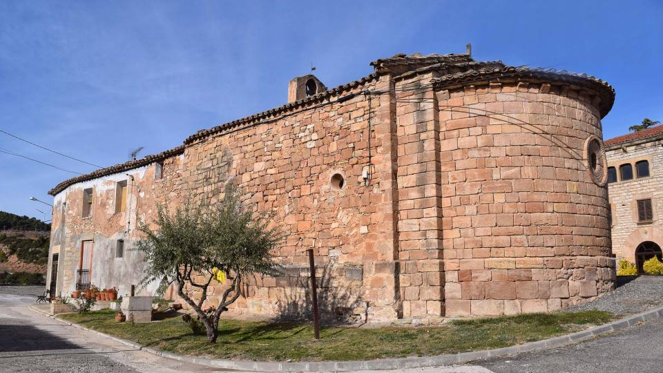 27.11.2017 Església de Santa Maria Vella  Santa Maria del Camí -  Ramon  Sunyer