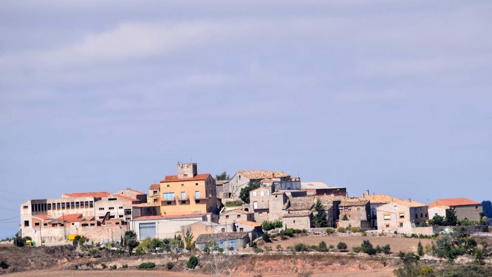 vista del poble de Carbasí