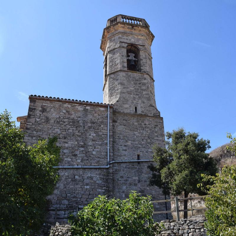16.09.2017 Església de Sant Llorenç  Argençola -  Ramon Sunyer