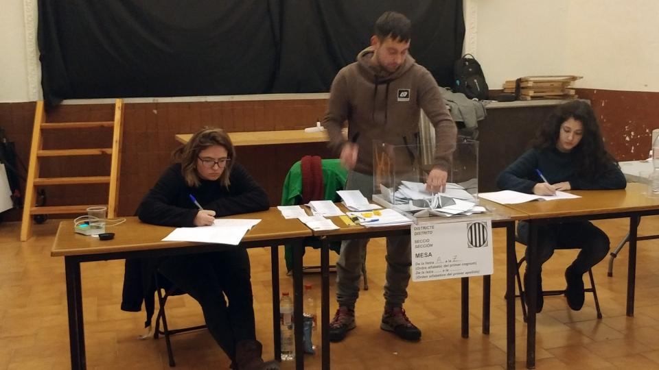 Argençola vota en clau independentista -