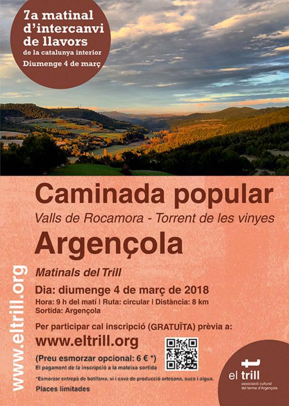 Matinals del Trill 2018 a la Vall de Rocamora i al Torrent de les Vinyes - Argençola