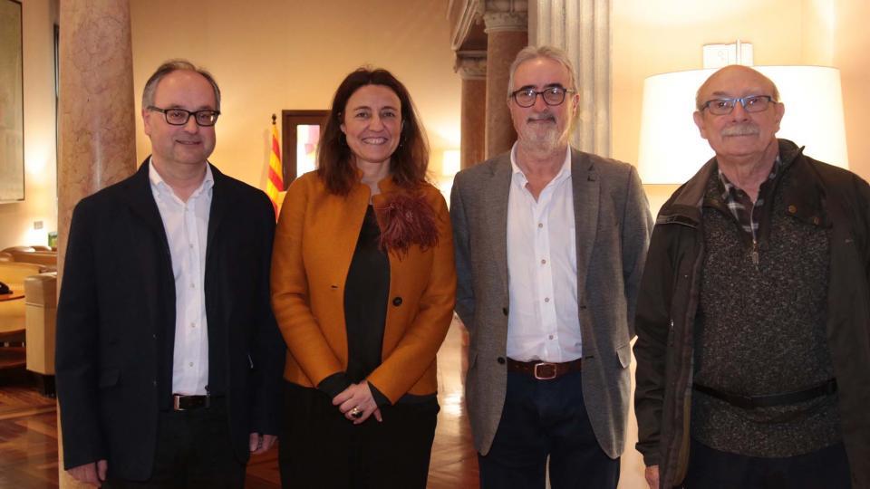 Reunió amb Mercè Conesa, Presidenta de la Diputació de Barcelona -