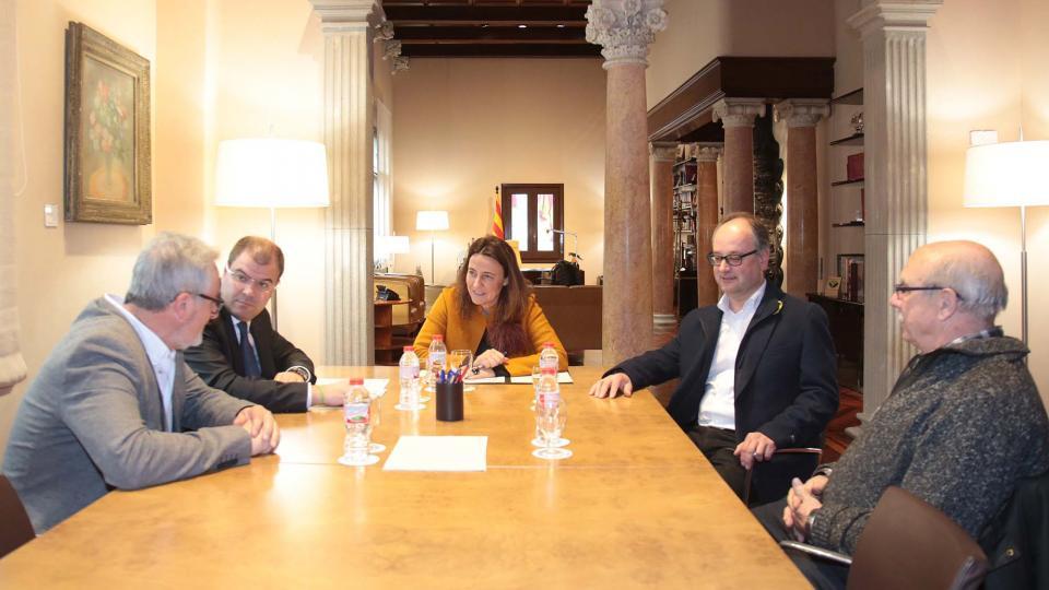 Reunió amb Mercè Conesa, Presidenta de la Diputació de Barcelona