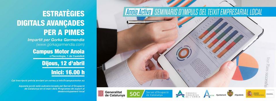 Seminari d'Estratègies digitals avançades per a PIMES