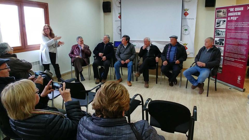 14.04.2018 Col·loqui amb els saurins  Argençola -  Martí Garrancho